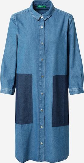 UNITED COLORS OF BENETTON Sukienka koszulowa w kolorze niebieski denim / ciemny niebieskim: Widok z przodu