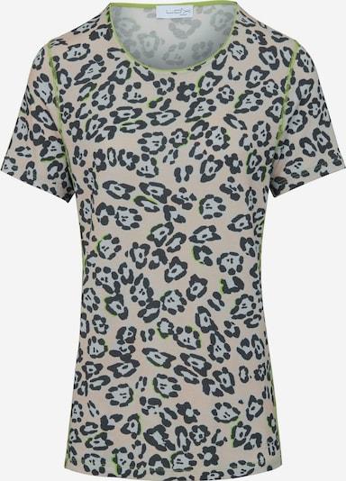 Looxent Shirt Rundhals in beige / mischfarben, Produktansicht