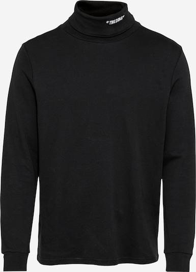 Redefined Rebel Sweatshirt 'Franco' i sort / hvid, Produktvisning