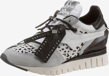 A.S.98 Sneakers in Silver