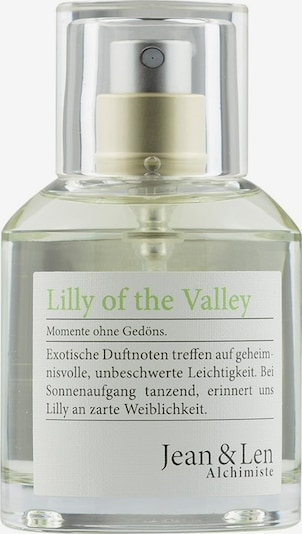 Jean & Len Eau de Parfum 'Lilly of the Valley' in transparent, Produktansicht