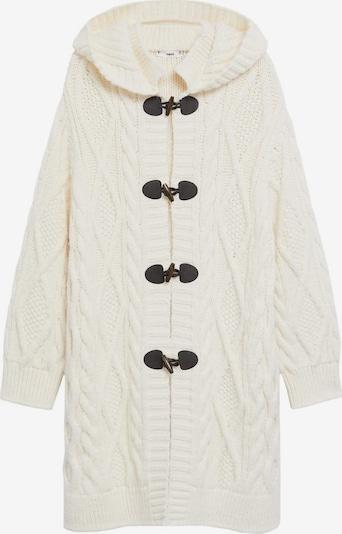 MANGO Pletený kabát 'Mara' - krémová, Produkt