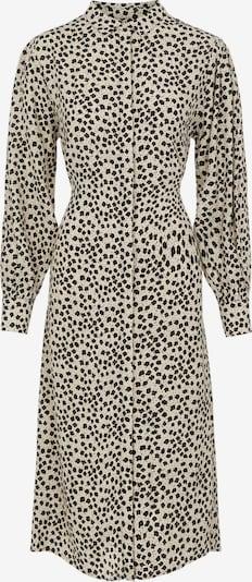 OBJECT Robe-chemise 'Sofia' en crème / noir, Vue avec produit