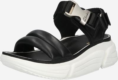 Sandale CLARKS pe negru, Vizualizare produs