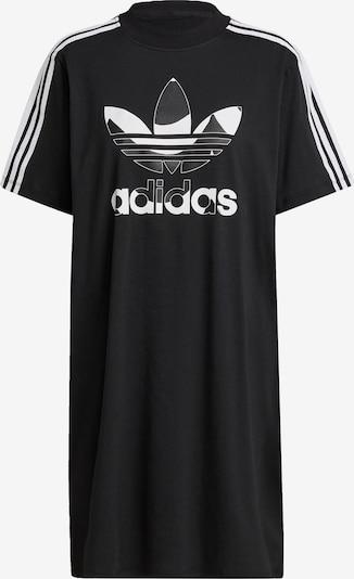 ADIDAS ORIGINALS Shirtkleid in schwarz / weiß, Produktansicht