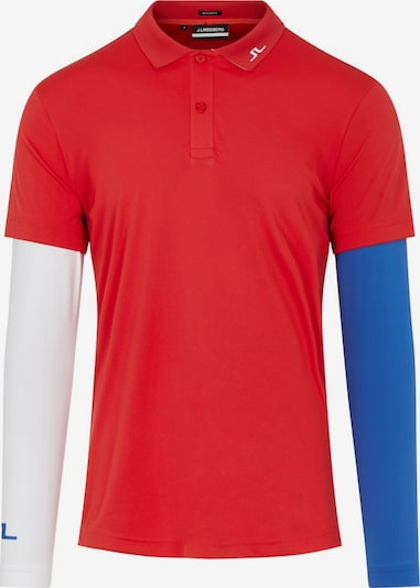 J.Lindeberg Shirt in blau / weiß, Produktansicht