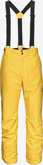 BRUNOTTI Skihose in gelb / schwarz, Produktansicht