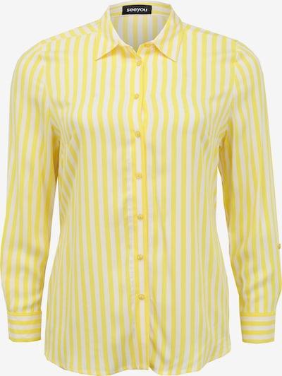 seeyou Hembluse in gelb / weiß, Produktansicht