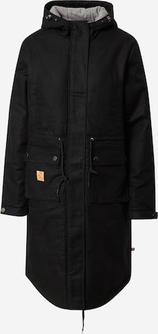 bleed clothing Between-Seasons Parka 'Guerilla' in Black