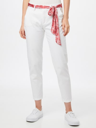 FREEMAN T. PORTER Chino trousers 'Claudia' in White, View model
