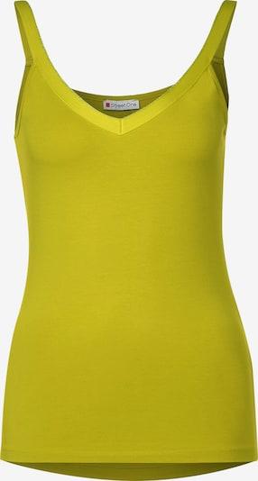 STREET ONE Top in gelb, Produktansicht