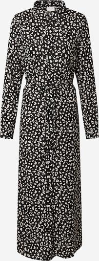 Rochie tip bluză 'MITZA' VILA pe negru / alb, Vizualizare produs
