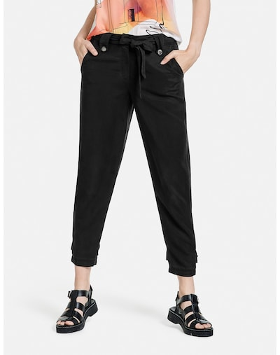 TAIFUN Hose in schwarz, Modelansicht