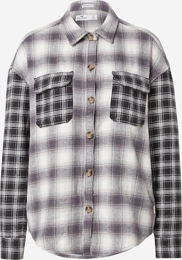 HOLLISTER Bluza u taupe siva / crna / bijela, Pregled proizvoda