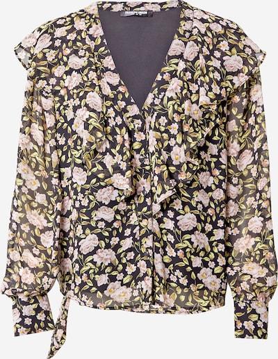 Fashion Union Bluse in grau / rosa / weiß, Produktansicht