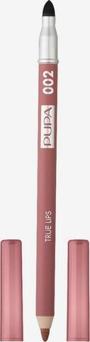 PUPA Milano Lipliner 'True Lips' in Pink