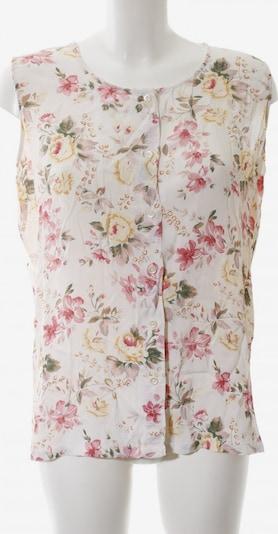BLUE SEVEN Kurzarm-Bluse in M in creme / pink / wollweiß, Produktansicht
