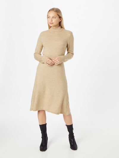 Rochie tricotat DeFacto pe bej deschis, Vizualizare model