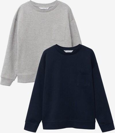 MANGO KIDS Sweatshirt i marinblå / grå, Produktvy
