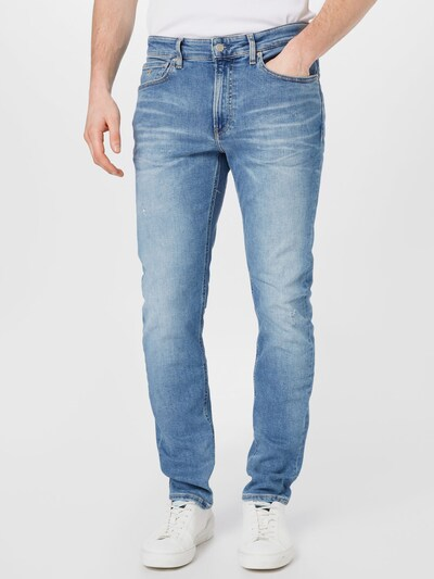 Calvin Klein Jeans Džínsy 'TAPER' - modrá denim, Model/-ka
