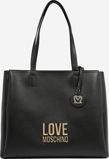 Love Moschino Shopper torba u crna: Prednji pogled