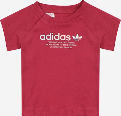 ADIDAS ORIGINALS Tričko - malinová / bílá, Produkt