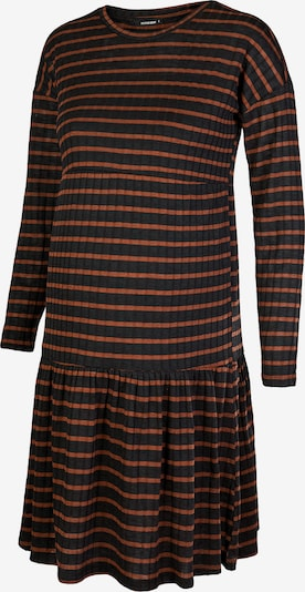Supermom Kleid ' Stripe ' in braun / schwarz, Produktansicht