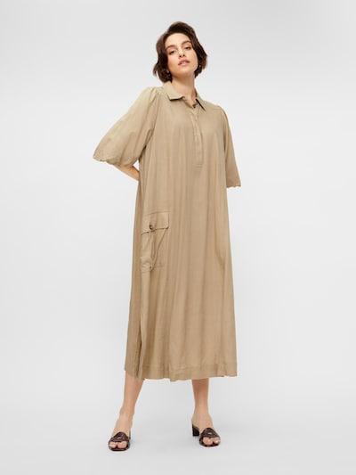 Y.A.S Kleid 'Becca' in sand, Modelansicht