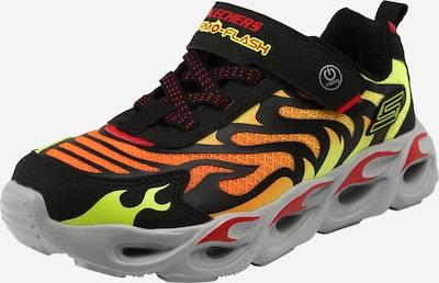 SKECHERS Schuh in gelb / orange / schwarz, Produktansicht
