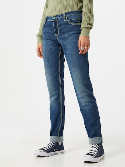 Soccx Jeans 'HE:DI' in blue denim, Modelansicht