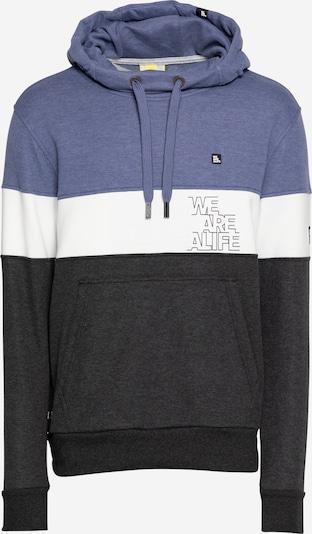 Alife and Kickin Sweatshirt 'King' in Royal blue / Anthracite / White, Item view