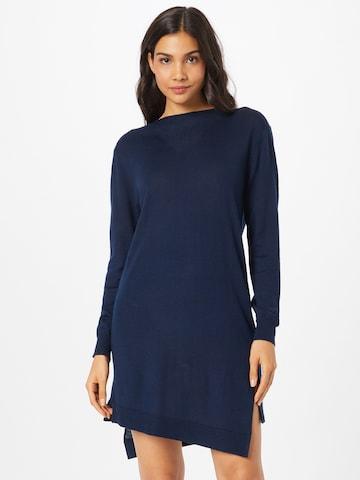 G-Star RAW Gebreide jurk in Blauw