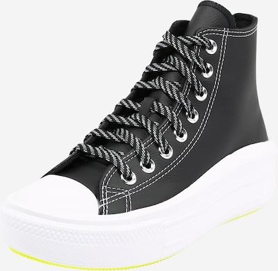 CONVERSE Členkové tenisky 'CHUCK TAYLOR ALL STAR MOVE - HI' - čierna / biela, Produkt