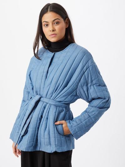 Palton de primăvară-toamnă 'Cala' Bizance Paris pe albastru, Vizualizare model