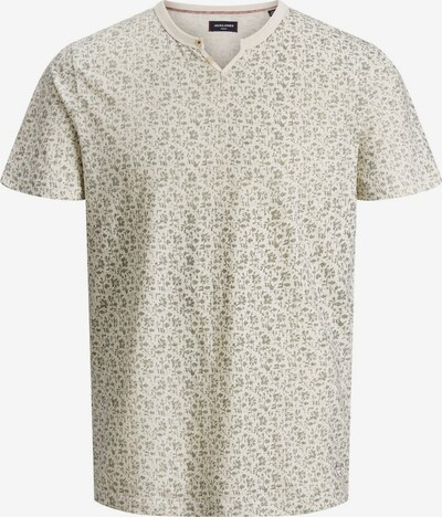 JACK & JONES Shirt in de kleur Beige / Lichtgroen, Productweergave