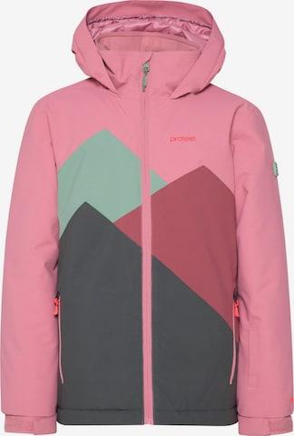 PROTEST Snowboardjacke 'DOUTSEN JUNIOR' in Pink