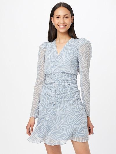 Gina Tricot Šaty 'Selena' - opálová / biela, Model/-ka
