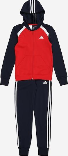Costum de trening ADIDAS PERFORMANCE pe roșu / negru / alb, Vizualizare produs