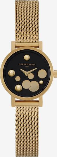 PIERRE CARDIN Uhr in gold / schwarz, Produktansicht