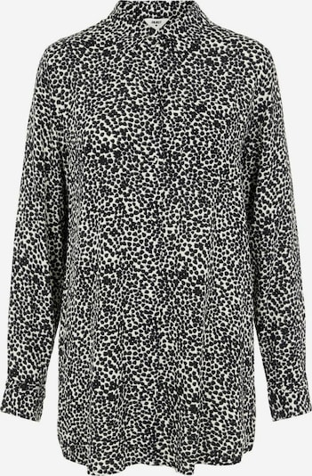 OBJECT Bluse in schwarz / weiß, Produktansicht