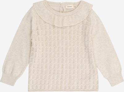 Lil ' Atelier Kids Pullover in beigemeliert, Produktansicht
