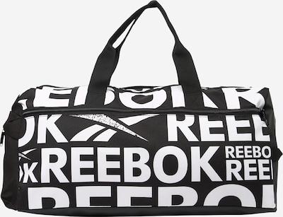 Geantă sport 'Workout Ready' Reebok Sport pe negru / alb, Vizualizare produs