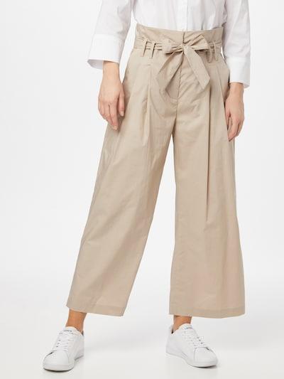 CINQUE Kalhoty se sklady v pase 'HARPER' - starobéžová, Model/ka