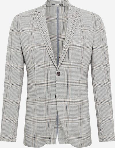 JACK & JONES Veste de costume 'STUART' en noisette / gris / noir / blanc, Vue avec produit