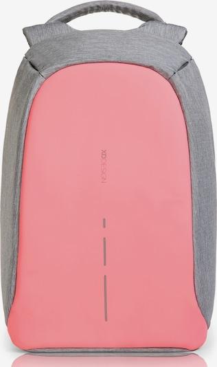 XD Design Sac à dos 'Bobby' en gris chiné / rose, Vue avec produit