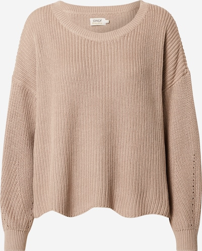 ONLY Pullover 'Hilde' in taupe, Produktansicht