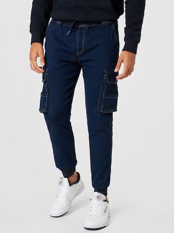 Denim Project Cargo jeans in Blue