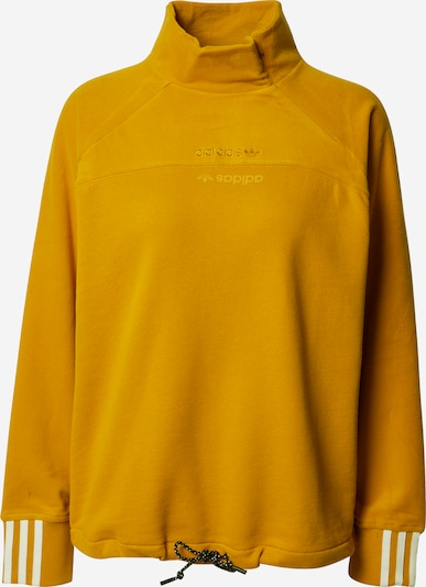 ADIDAS ORIGINALS Sweatshirt in senf: Frontalansicht
