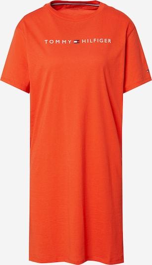 Tommy Hilfiger Underwear Нощница в нейви синьо / червено / оранжево-червено / бяло, Преглед на продукта