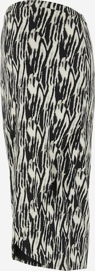 MAMALICIOUS Jupe 'Sebra' en noir / blanc, Vue avec produit